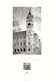 Poster of Exterior of U.S. Post Office and Courthouse, Brooklyn, New York