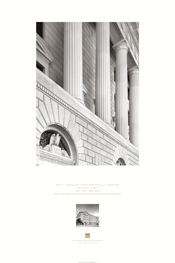 Poster of Exterior of Frank M. Johnson Jr. Federal Building and U.S. Courthouse, Montgomery, Alabama