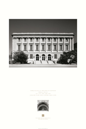 Federal Building, U.S. Post Office and Courthouse Missoula Poster