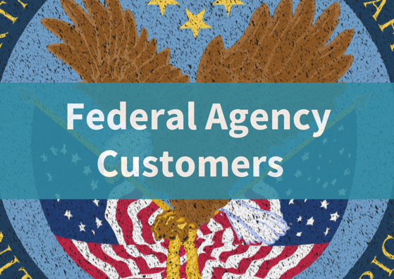 Image link to Federal Agency Customers