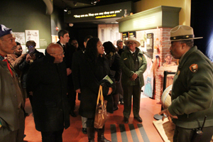 Archbishop Desmond Tutu visits African Burial Ground National Monument in NYC
