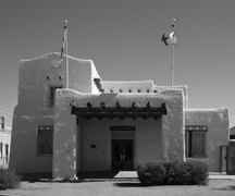U.S. Border Inspecton Station, Naco, Arizona