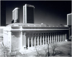Historic picture of the Byron White Courthouse Buidling