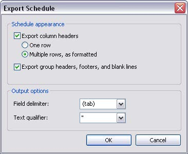 Visual diagram of how to export files in Revit