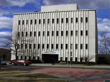 Exterior image of the Dick Cheney Federal Building in Casper Wyoming