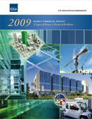 Thumbnail of the Fiscal Year 2009 Agency Financial Report