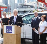 Members of GSA speaking during FedFleet 2009 in Chicago, Illinois