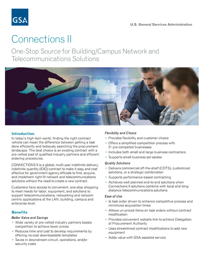 Thumbnail of Connections II brochure