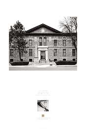 poster of U.S. Courthouse, Santa Fe, New Mexico