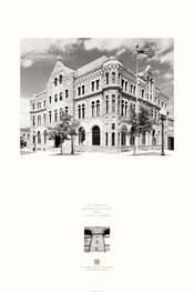 U.S. Courthouse in Sioux Falls, South Dakota Poster