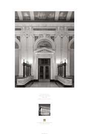 Poster of Interior: U.S. Custom House, Baltimore, Maryland