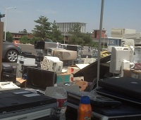 DFC 2013 electronic waste recycling event
