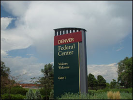 Denver Federal Center Welcome Sign