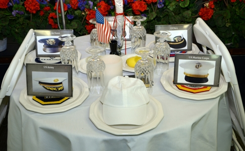 R4 GSA Memorial Day Event 2014, Missing Man Table