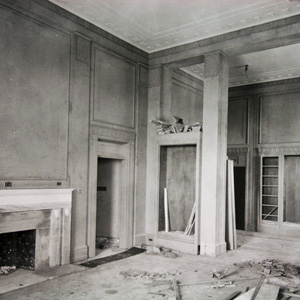 Construction of the Attorney General's suite, c. 1934.