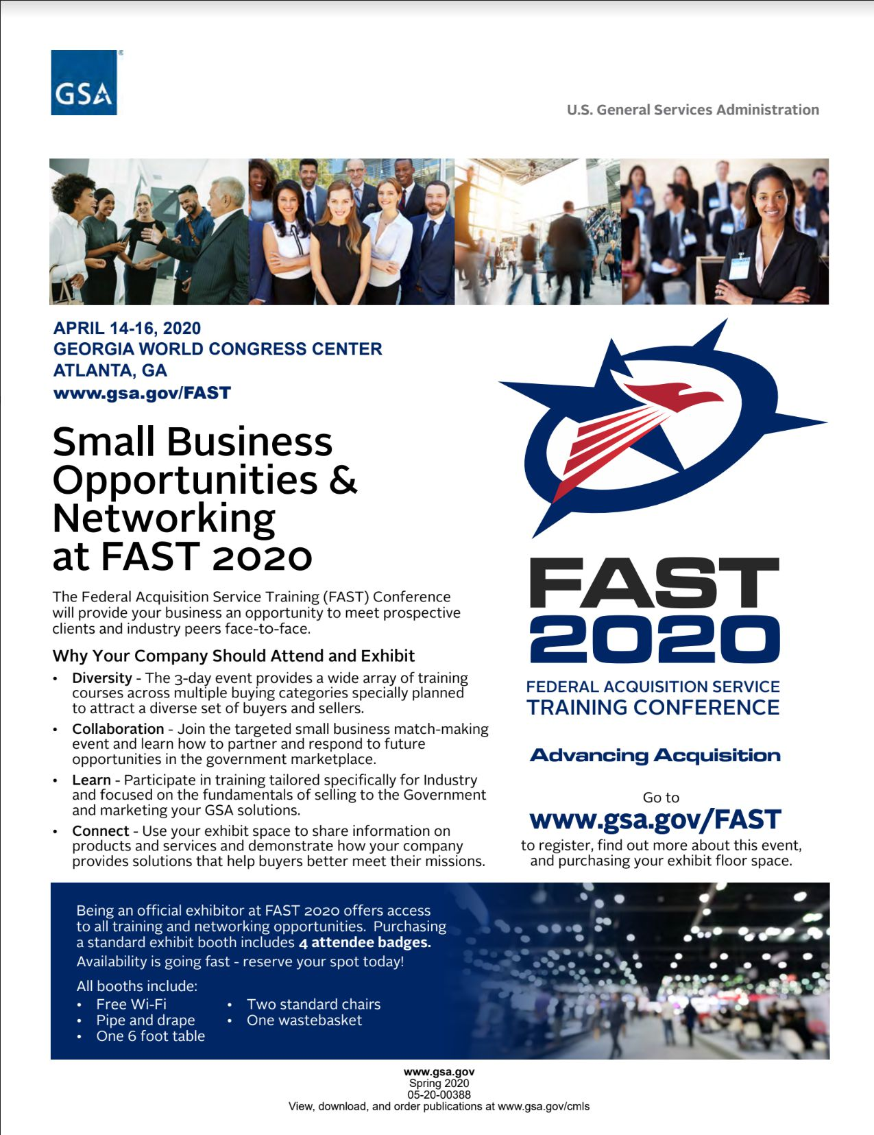 FAST2020 Industry Flyer