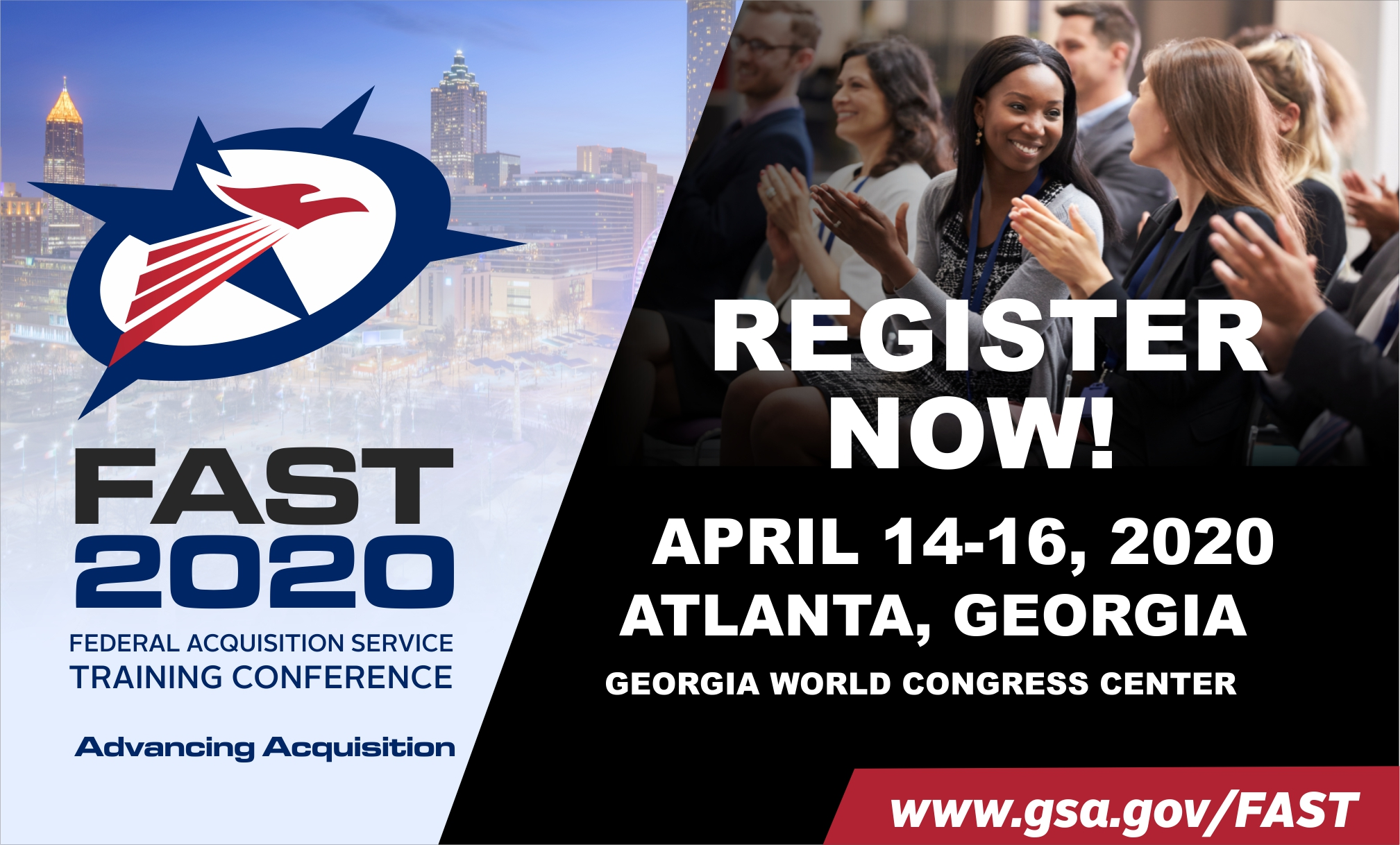 FAST 2020 Federal Acquisition Service Training Conference, April 14 - 16 2020, Atlanta Georgia