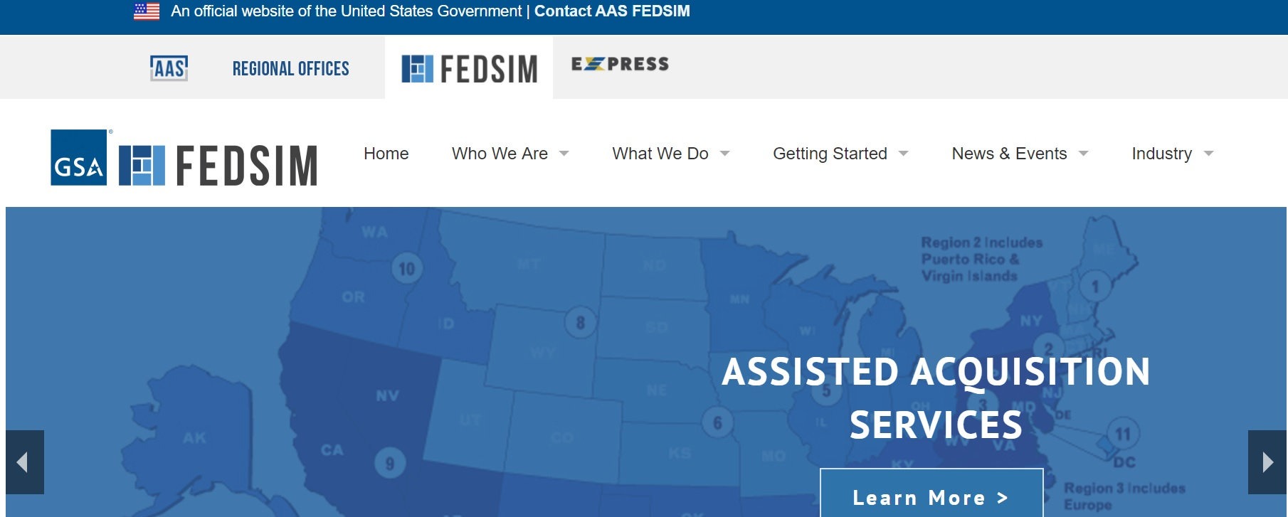 FEDSIM - Federal Systems Integration and Management Center