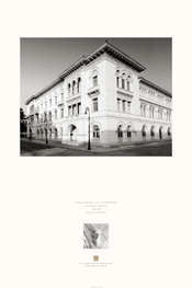 Poster of the exterior of Federal Building & U.S. Courthouse, Savannah, Georgia