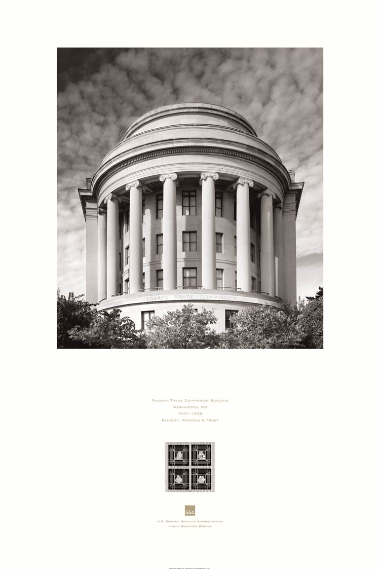 poster of the Federal Trade Commission Building, Washington, DC