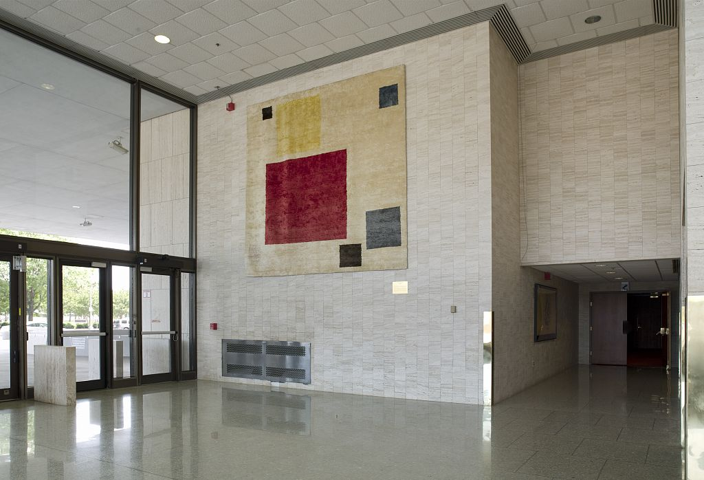Tapestry, Floating at the Hubert Humphrey Federal Building, Washington D.C.