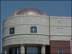 Dome of Helena MT U.S. Courthouse