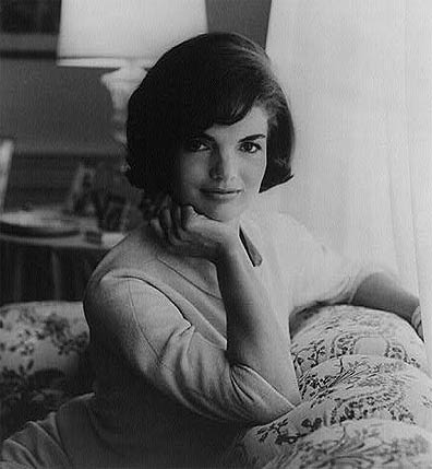 Photograph: Official White House portrait of First Lady Jacqueline Kennedy