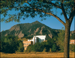 Scenic view of the NOAA Boulder Building