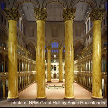 Photo of NBM Great Hall by Anice Hoachlander
