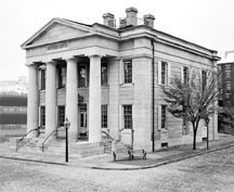 Exterior:  U.S. Custom House, New Bedford, MA