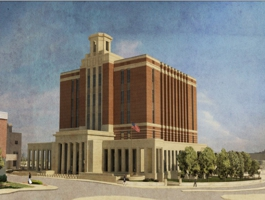New Greenville SC US Courthouse rendering