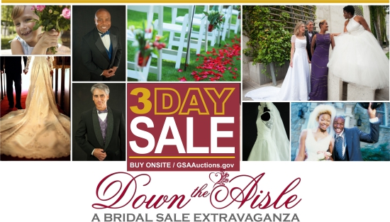 GSA Auctions 3 Day site Bridal Sale in Atlanta GA