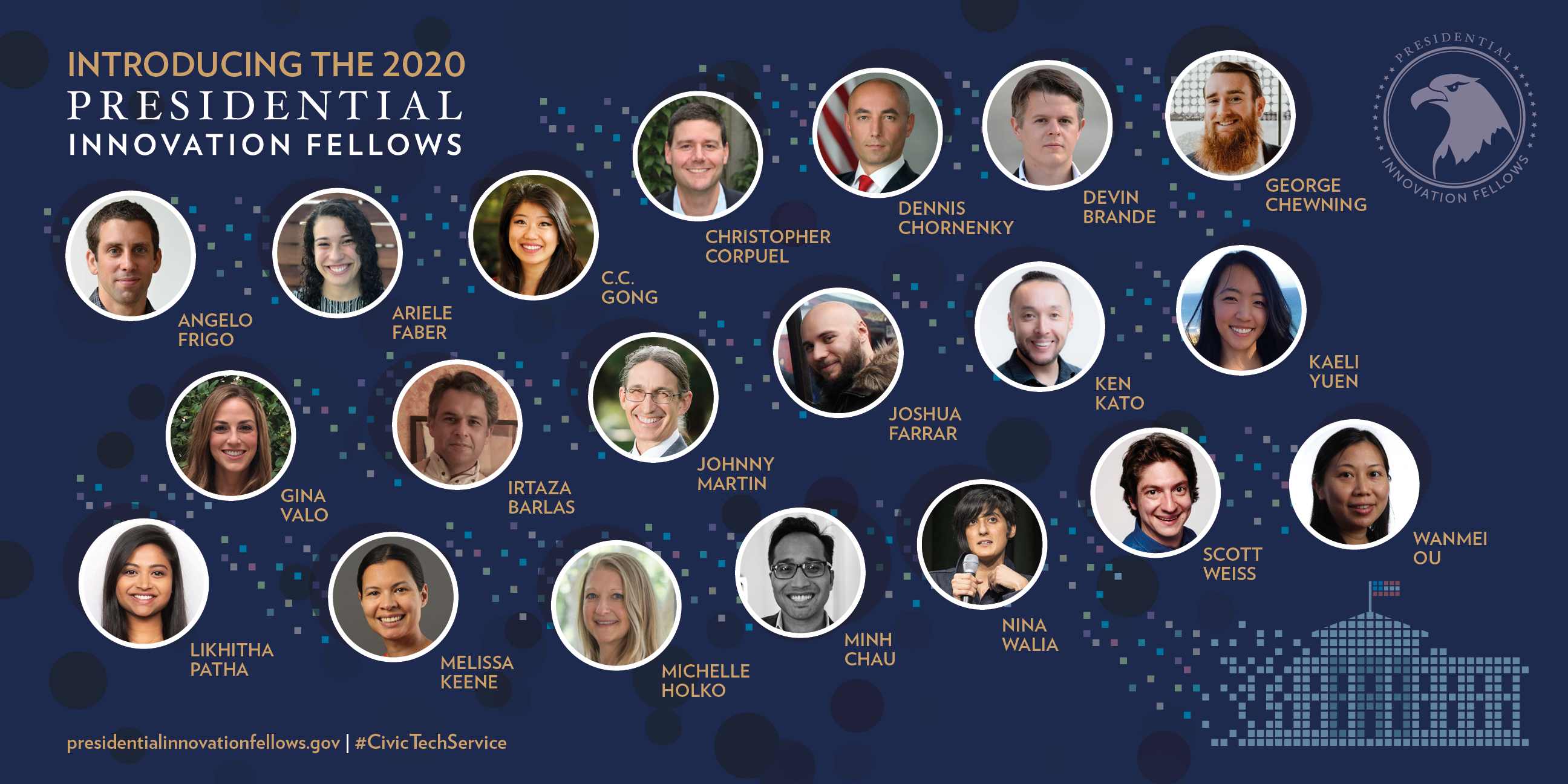 2019 Presidential Innovation Fellows