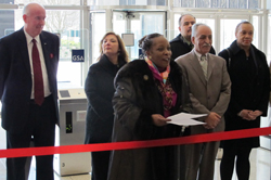Photo of ribbon-cutting ceremony