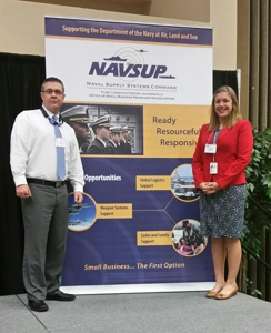 GSA CSDs Robb Back and Jennifer Rapé