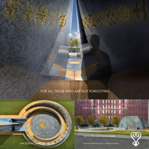 African Burial Ground Exterior Memorial Rendering Image Four 216x216 pxl