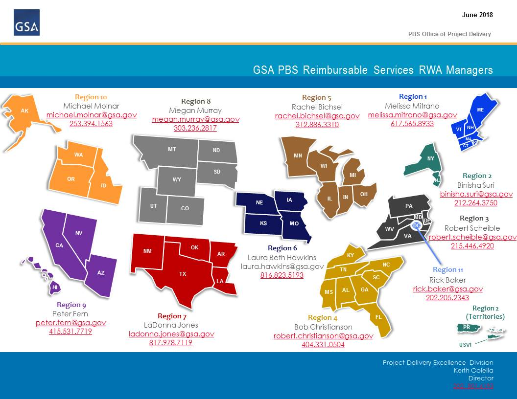 RWA Managers Map