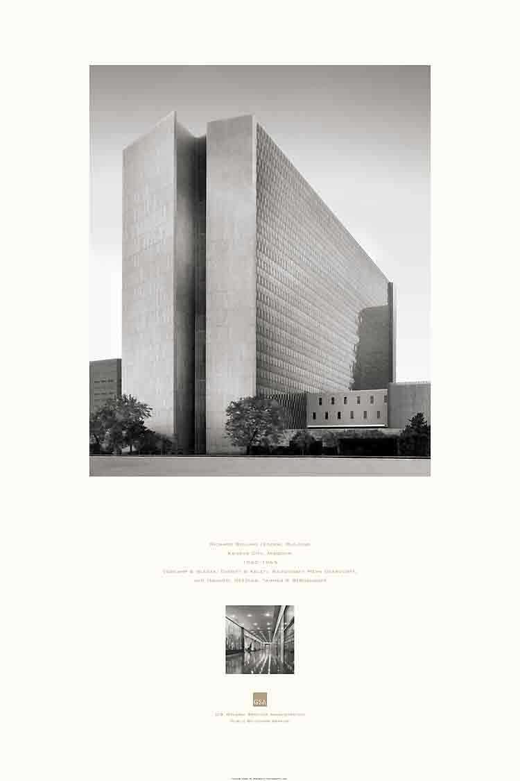 poster of the Richard Bolling Federal Building, Kansas City, MO