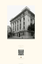 poster of U.S. Custom House, San Francisco, California