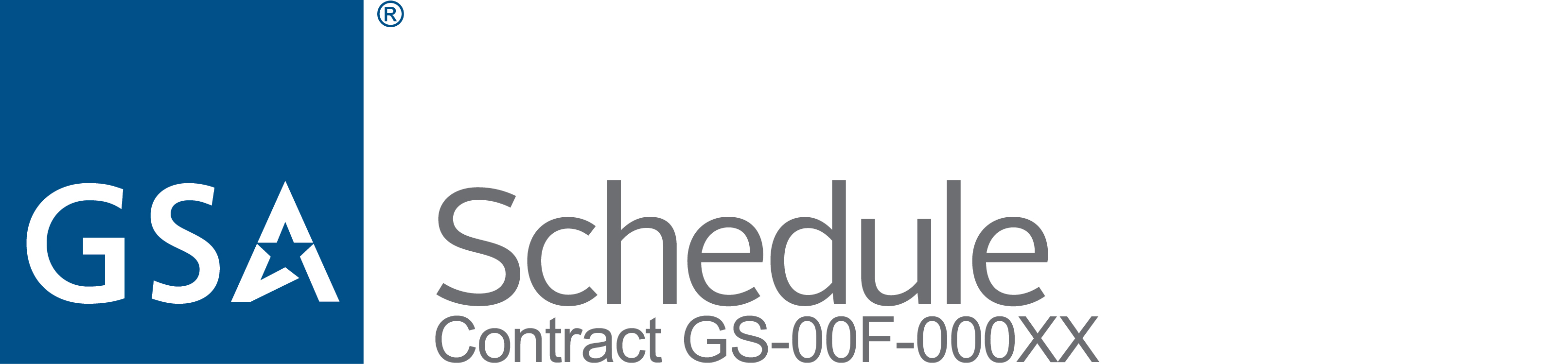 GSA Schedule Logo with Contract Number Image