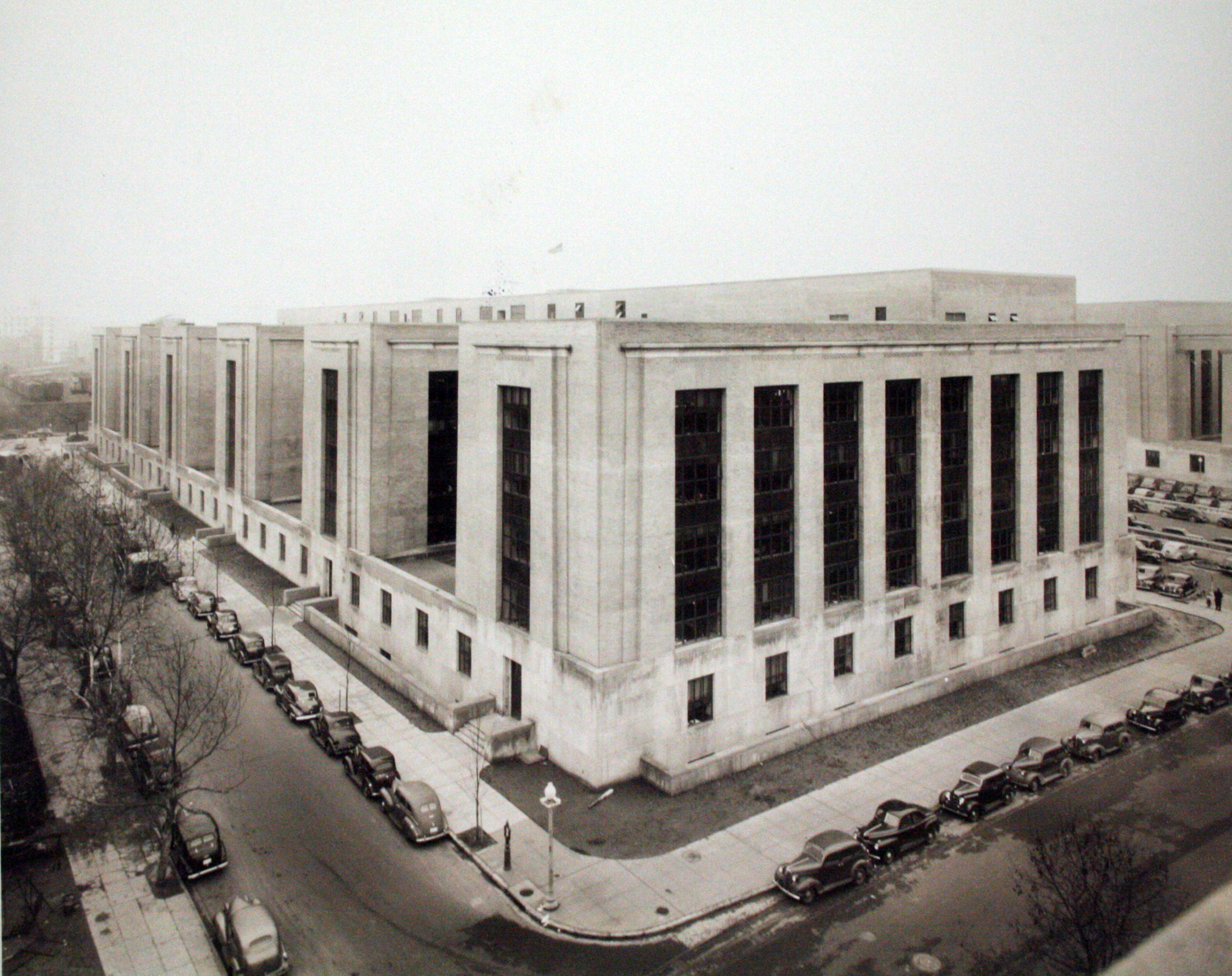 Completed construction of the Mary E. Switzer building, c. 1940.