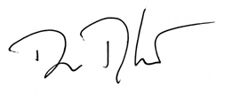 Signature of Dan Tangherlini