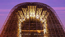 Hangar One at Moffett Federal Airfield, Mountain View, CA