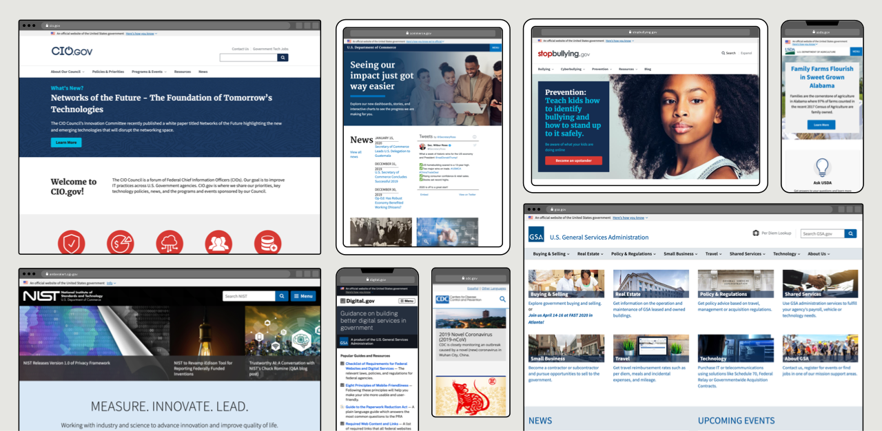 Gsa Publishes Standards For Building Federal Websites And Digital Services Gsa