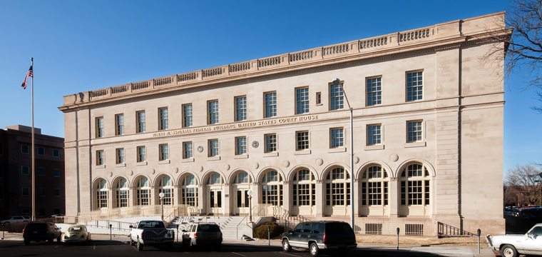 Wayne N. Aspinall Federal Building and U.S. Courthouse, Grand Junction, Colorado