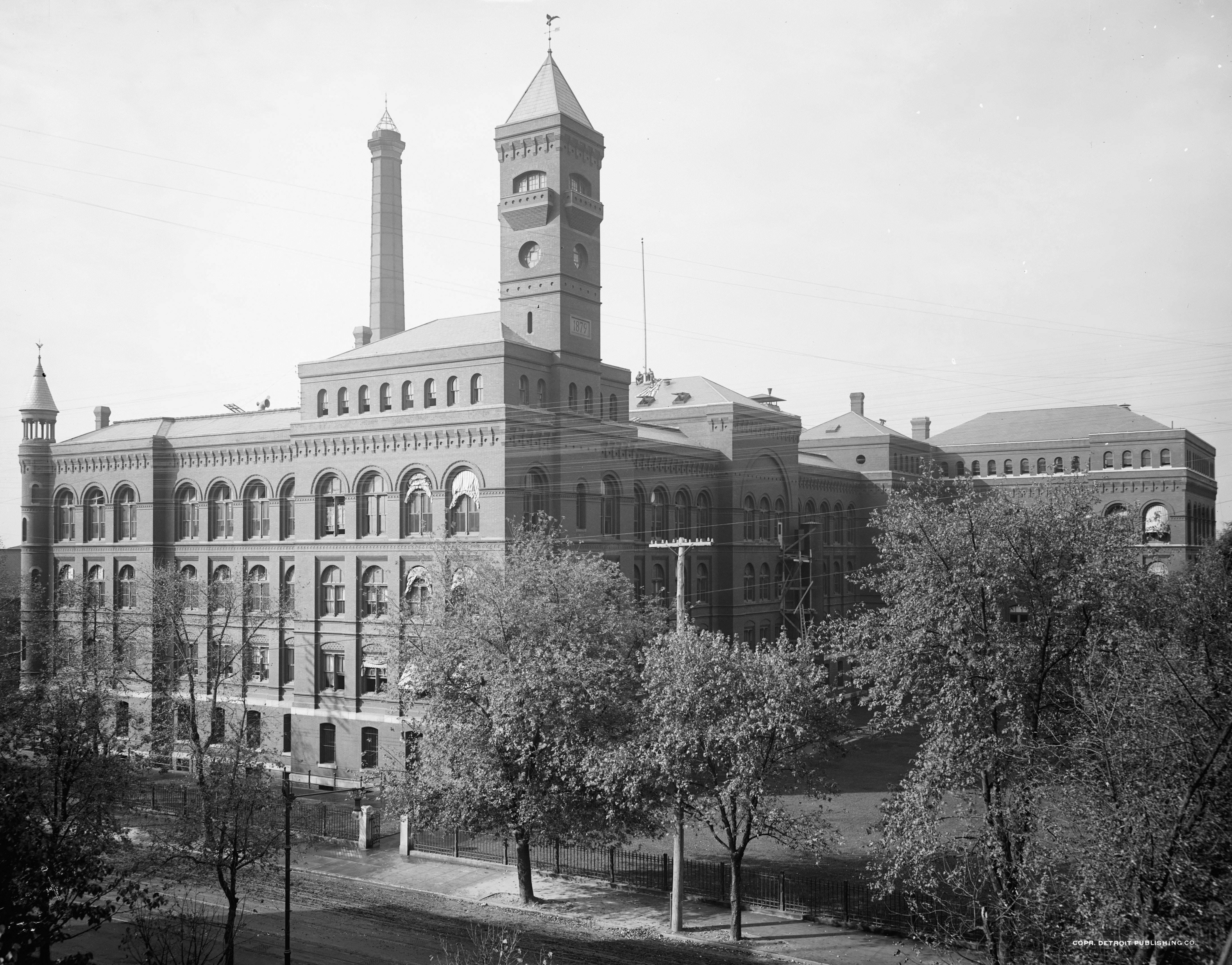 Bureau of Engraving & Printing Headquarters Building, 1906.