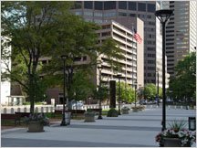 Image of Byron Rogers plaza