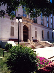 US Custom House Image front entrance photo