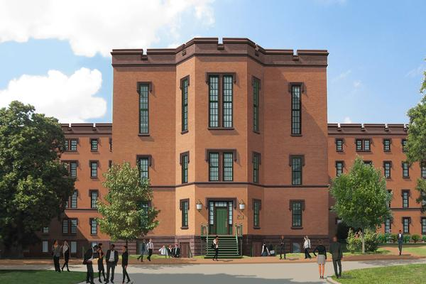 Rendering of St. Elizabeths Center Building Redesign