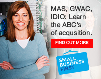 Image Reads - MAS, GWAC, IDIQ: learn the ABC's of acquisition - Click to find out how